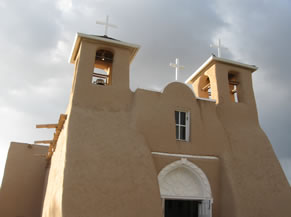 San Francisco de Asis church in Ranchos de Taos