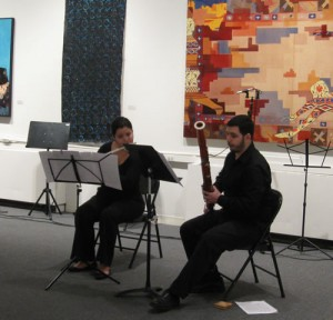 "Lisa Husseini and Andrew Thompson performing ""Duet"""