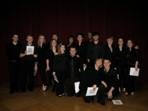 The NEC New Music Vocal Chamber Ensemble