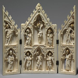 A 13th c. triptych from France