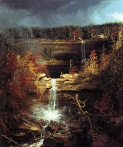 Thomas Cole, Falls of the Kaaterskill (1826)