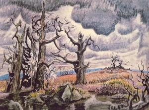 Charles Burchfield, An April Mood (1946-55)