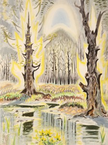Charles Burchfield, Glory of Spring (1950)
