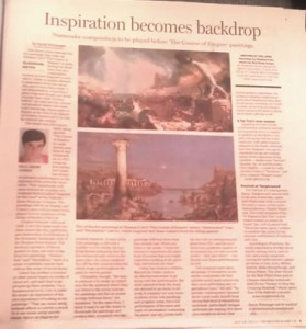 Article in The Boston Globe