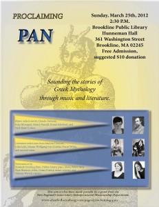 Proclaiming Pan