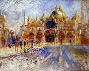 Renoir, Piazza San Marco Venice