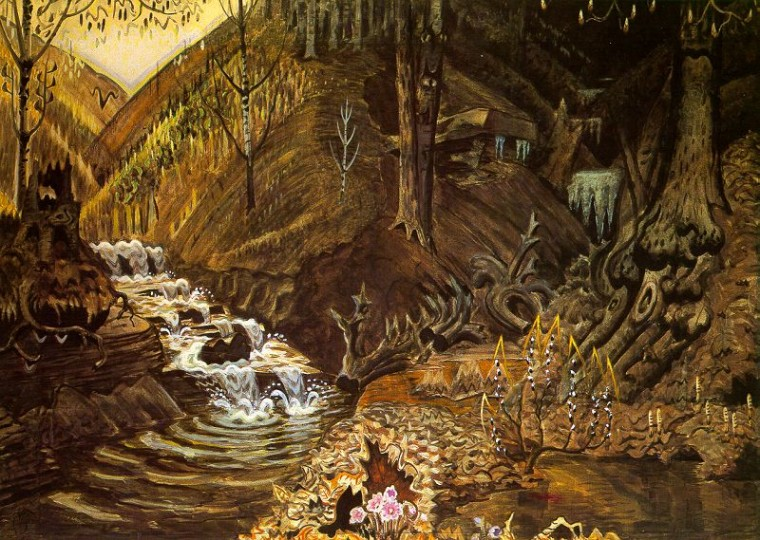 "Charles Burchfield, ""The Coming of Spring"" (1917-43)"