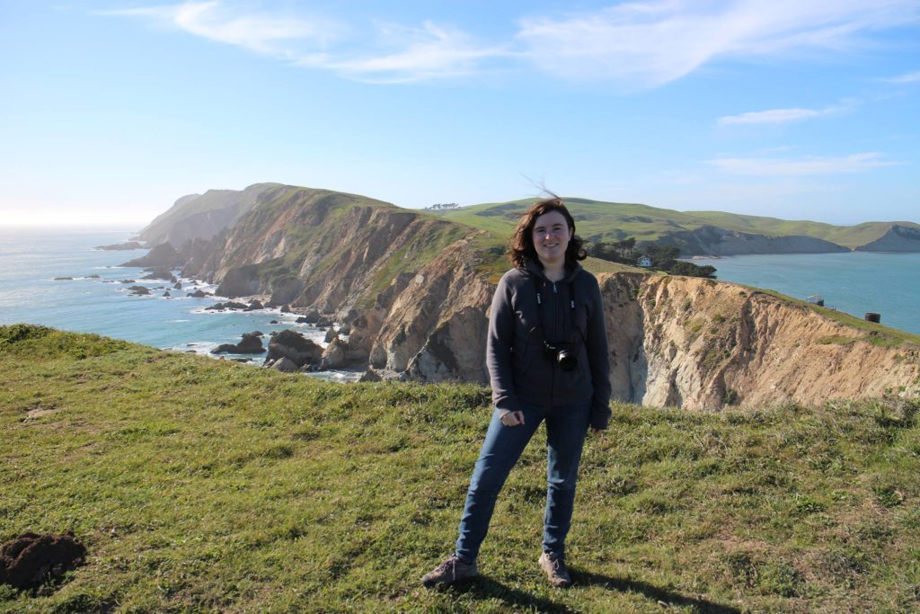 Nell Shaw Cohen at Point Reyes National Seashore